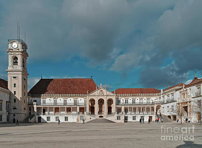 Photograph - Coimbra University In Portugal by Angelo DeVal