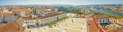 Photograph - Coimbra University Panorama by Benny Marty