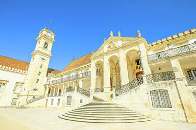Photograph - Coimbra University Portugal by Benny Marty