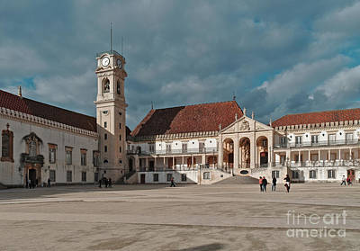 Photograph - Coimbra University View by Angelo DeVal