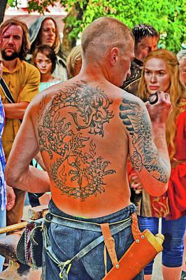 Walker Digital Art Photograph - Coin Valar Morghulis. Dragon Tattoo. by Andy Za