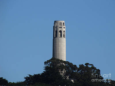 Coit Tower San Francisco Art Print