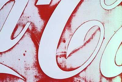 Coke 3 Art Print by Laurie Stewart
