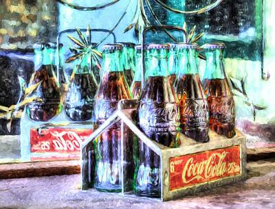 Photograph - Coke 6 Pack 25 Cents by JC Findley
