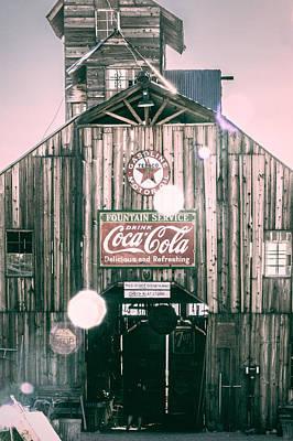 Coke Barn Art Print