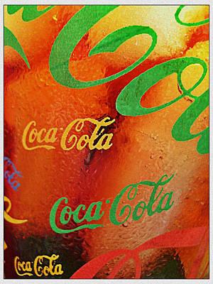 Coke Bubbles Art Print by Kevin D Davis