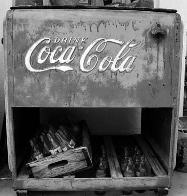 Photograph - Coke Cooler by David Lee Thompson
