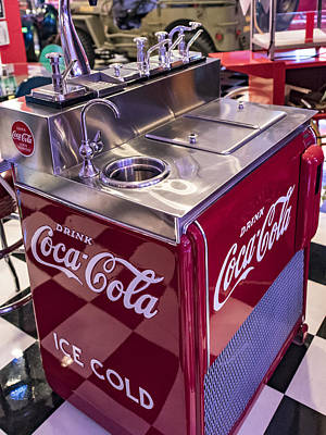 Coca-cola Signs Photograph - Coke Dispensary - Cherry Coke Please by Jon Berghoff