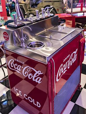 Cherry Coke Photograph - Coke Dispensary - Cherry Coke Please by Jon Berghoff
