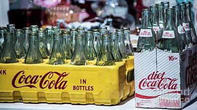 Photograph - Coke In Bottles by David Bearden