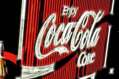 Photograph - Coke Sign Now Part Of Sydney History by Miroslava Jurcik
