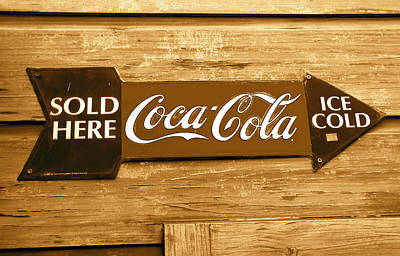 Photograph - Coke This Way by David Lee Thompson