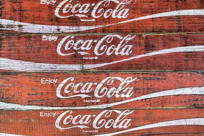 Photograph - Coke Wall by JC Findley