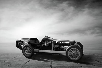 Indianapolis Photograph - Coker Special Great Race 2012 by Peter Chilelli