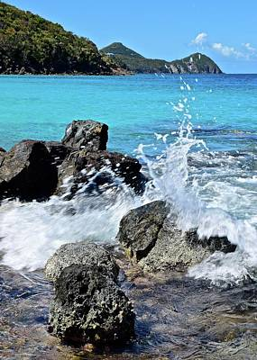 Photograph - Coki Beach Seascape by Frozen in Time Fine Art Photography