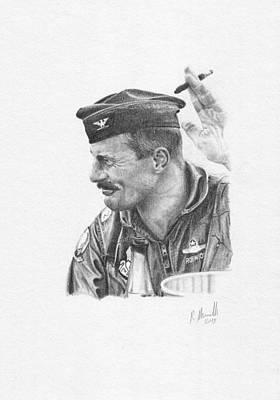 Mcdonnell Douglas F-4 Phantom Ii Painting - Col. Robin Olds by Reinaldo Munilla