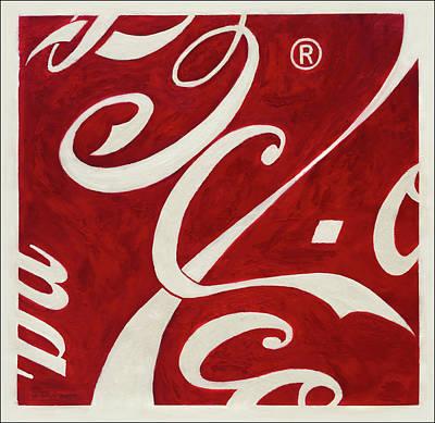 Cola - Coca Art Print by Antonio Ortiz