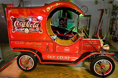 Coca-cola Signs Photograph - Cola Delivery Truck by Jon Berghoff