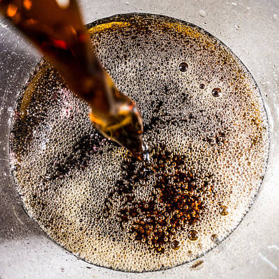 Photograph - Cola Pour by SR Green