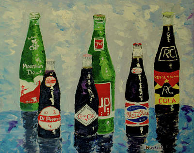 Painting - Cola Time by Brian Hustead