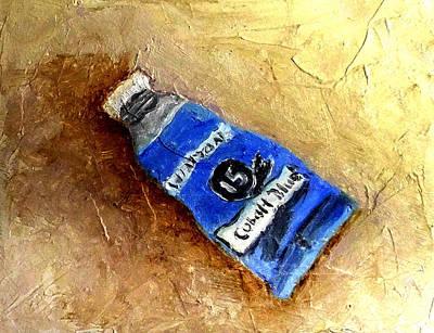 Colbalt Blue Art Print