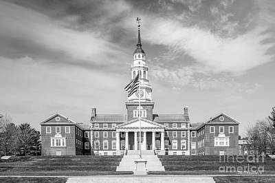Photograph - Colby College Miller Library by University Icons