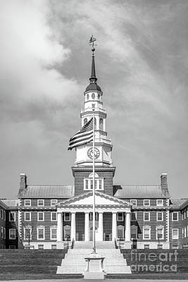 Photograph - Colby College Miller Library Vertical by University Icons