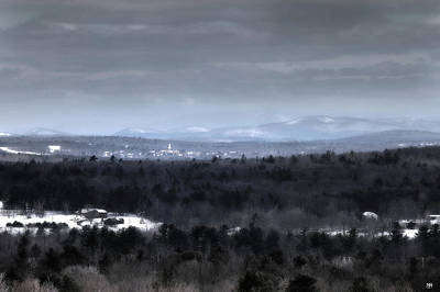 Photograph - Colby In Winter by John Meader