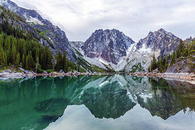 Photograph - Colchuck Lake by Evgeny Vasenev