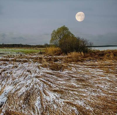 Photograph - Cold Autumn Evening by Vladimir Kholostykh