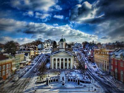 Bellefonte Wall Art - Photograph - Cold Court by Justin Melanson