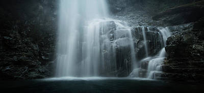 Photograph - Cold Falls by Adam Gibbs