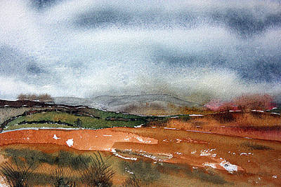 Northumberland Painting - Cold Fell by Francis Robson