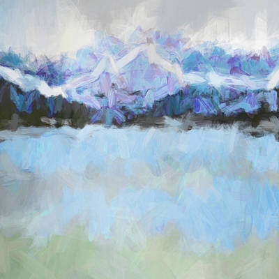 Cold Front Art Print by Tonya Doughty