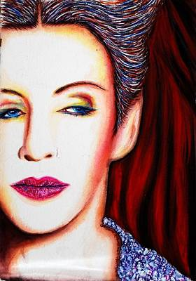 Annie Lennox Mixed Media - Cold by Joseph Lawrence Vasile