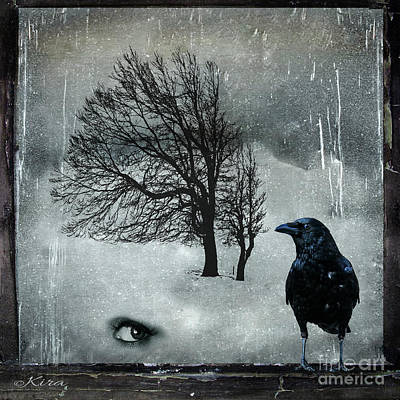 Photograph - Cold by Kira Bodensted