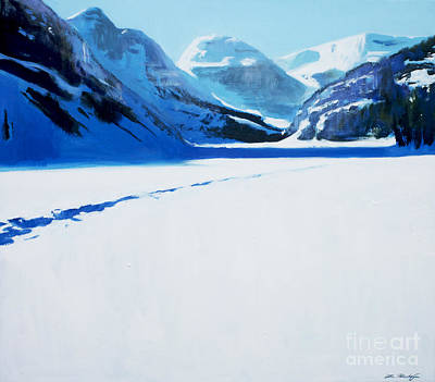 Lin Painting - Cold by Lin Petershagen