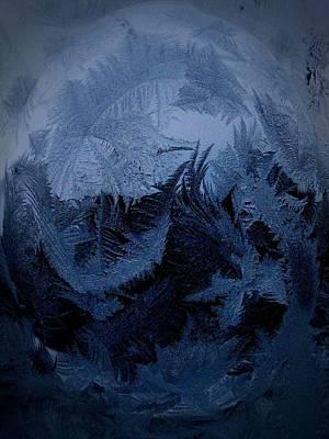 Cold Moon Rising Art Print