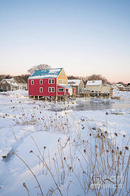 Photograph - Cold Morning In Cape Porpoise by Benjamin Williamson
