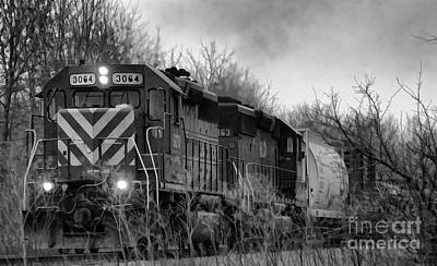 Photograph - Cold Morning Train  by Wilma Birdwell