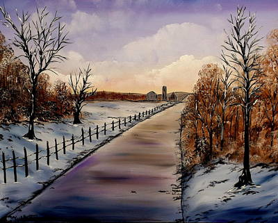 Painting - Cold Mornings by Lisa Aerts
