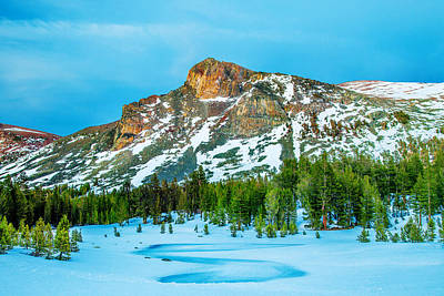 California Yosemite Photograph - Cold Mountain by Az Jackson