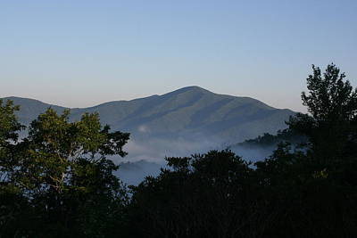 Photograph - Cold Mountain North Carolina by Stacy C Bottoms