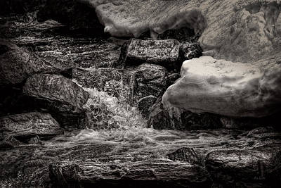 Photograph - Cold Mountain Stream by Bob Orsillo