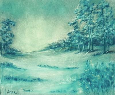 Painting - Cold Season by Anastasiya Malakhova
