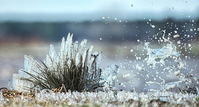 Dan Beauvais Royalty Free Images - Cold Spray 9559 Royalty-Free Image by Dan Beauvais