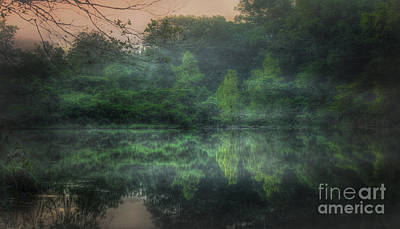 Photograph - Cold Spring Lake by Larry McMahon