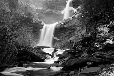 Photograph - Cold Spring Morning At Kaaterskill Falls II by Jeff Severson