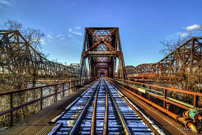 Photograph - Cold Steel The Bridges Of Memphis Tn Art by Reid Callaway
