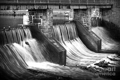 Photograph - Cold Stream Dam by E B Schmidt